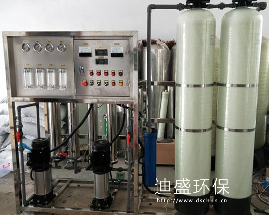 鄒城雙級反滲透純水設備